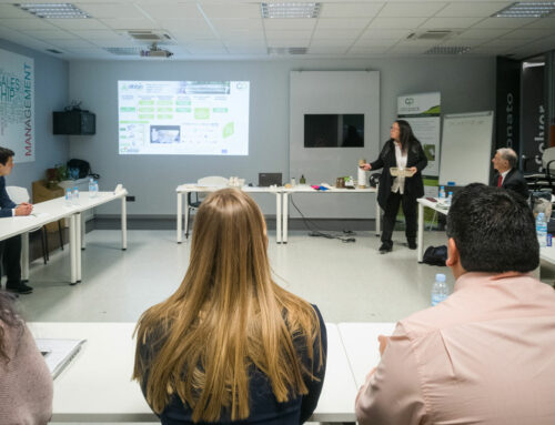 Project presented in the frame of a plastic circular economy workshop celebrated in Aitiip
